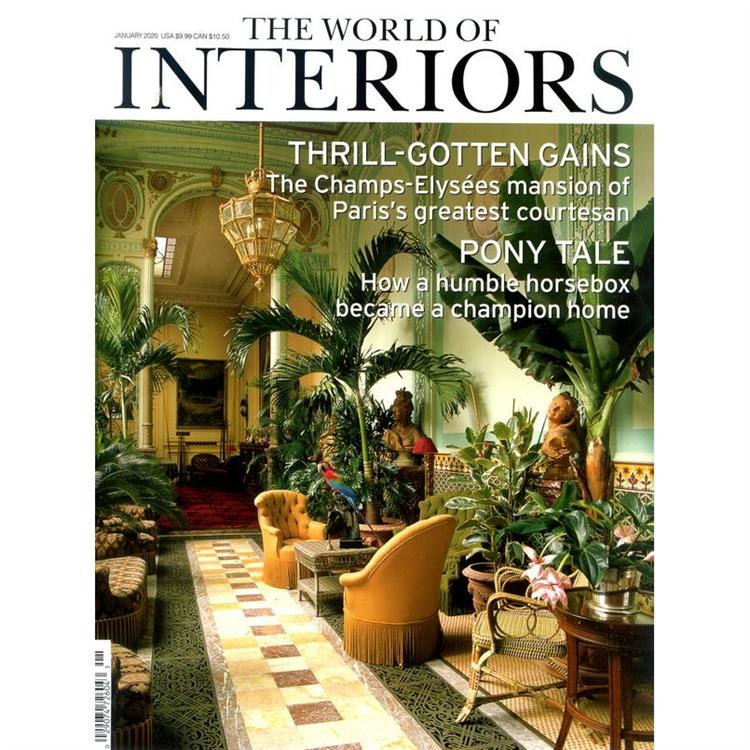 THE WORLD OF INTERIORS 1月號_2020