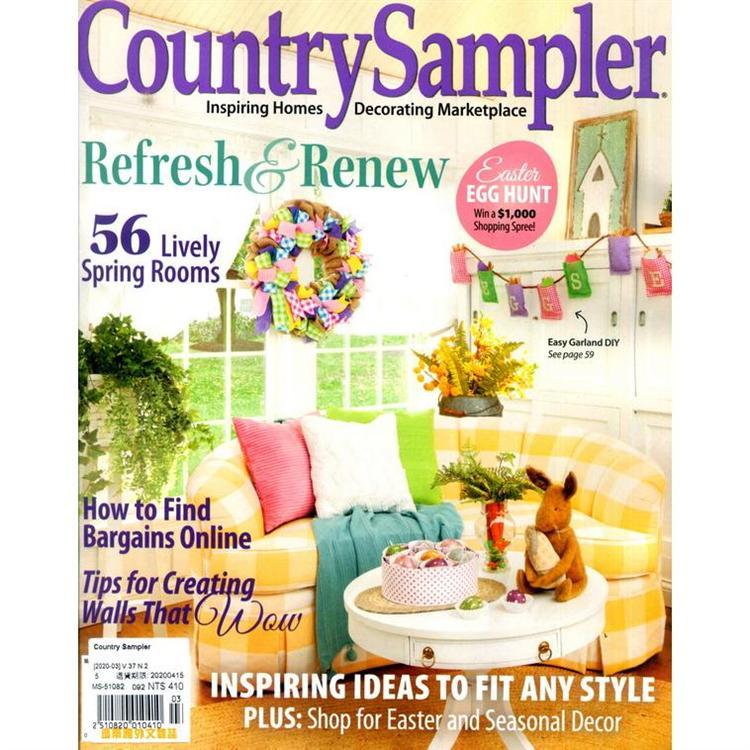 Country Sampler 3月號_2020