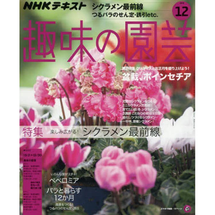 NHK 教科書趣味的園藝 12月號2018