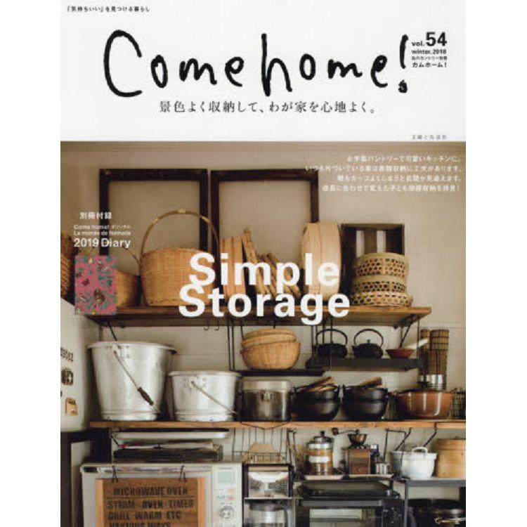 Come home! Vol.54