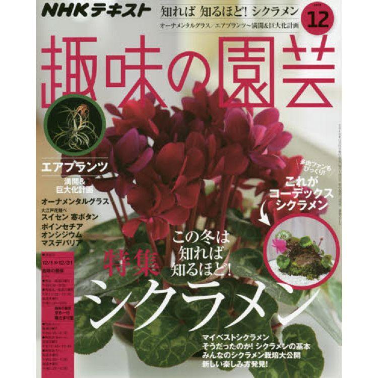 NHK 教科書   趣味的園藝 12月號2019