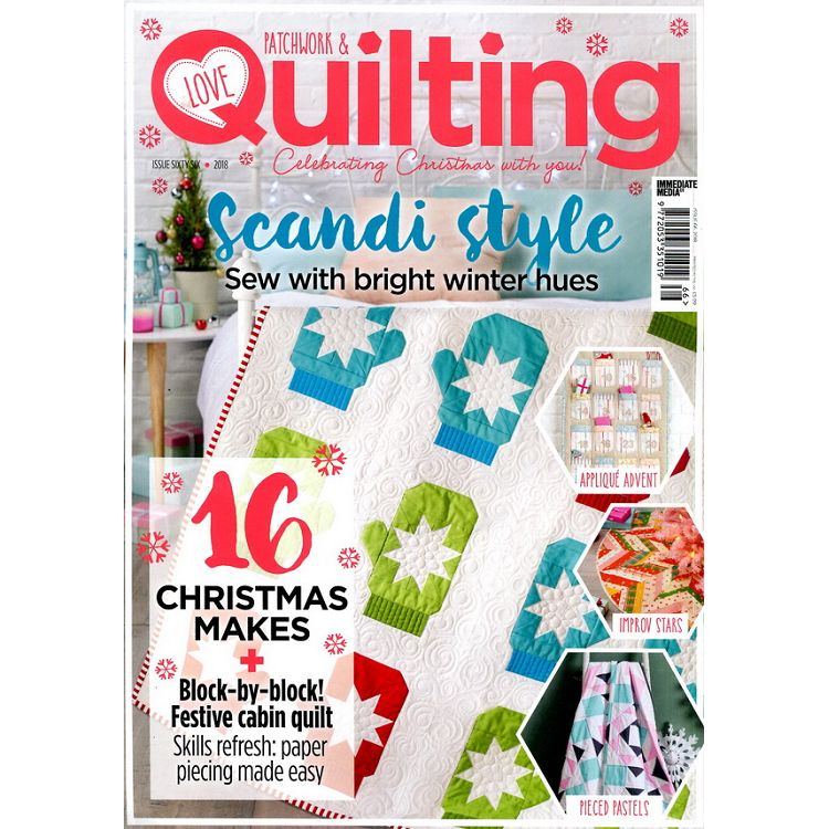 LOVE Patchwork & Quilting 第66期 2018
