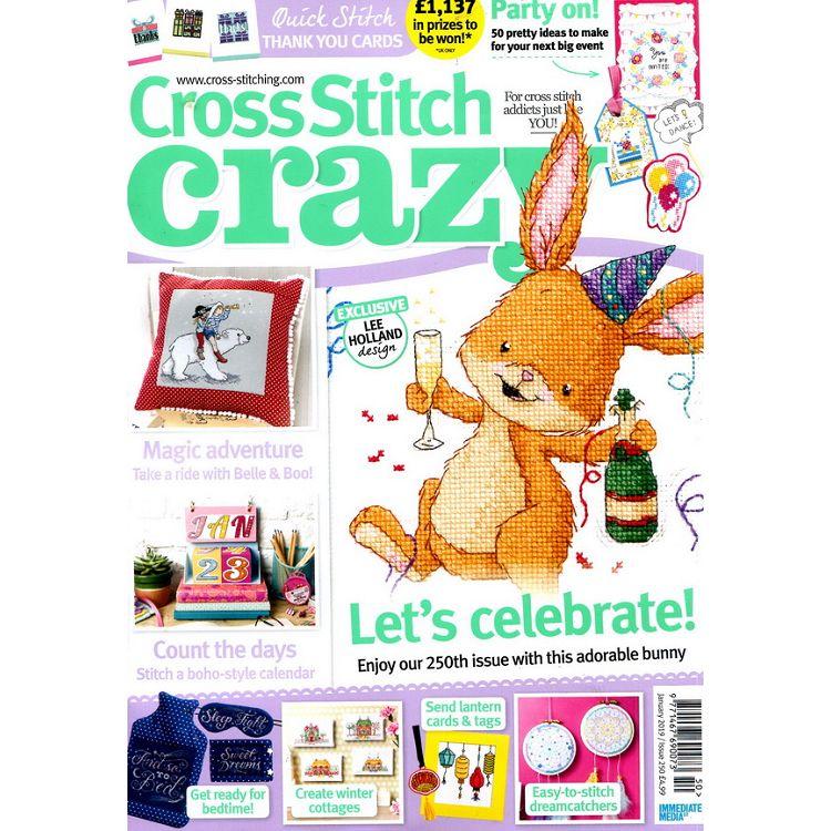 Cross stitch crazy 第250期 1月號 2019