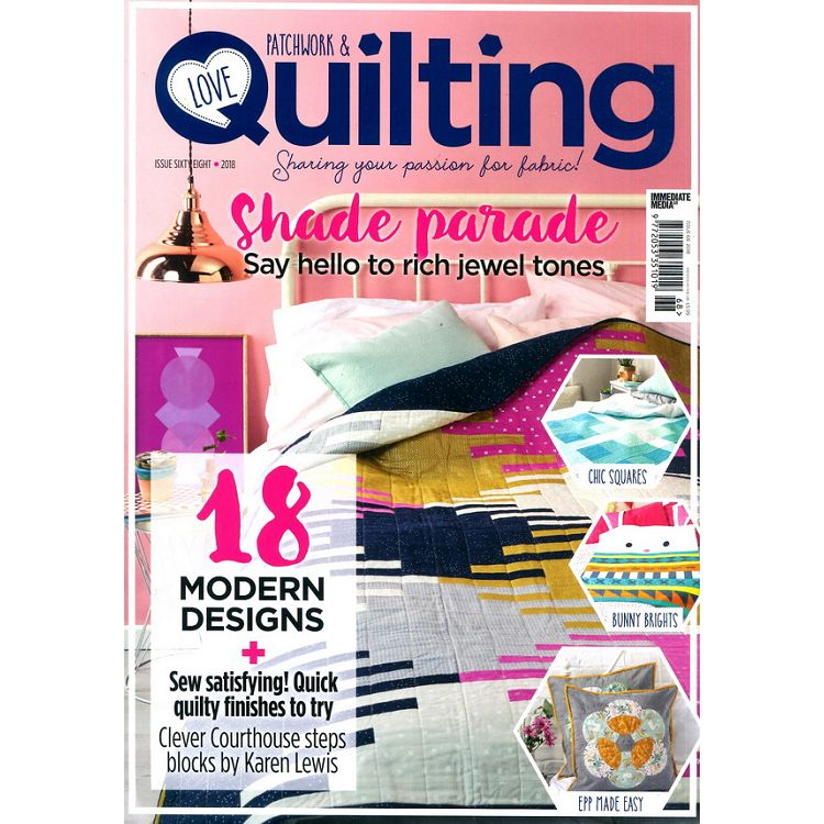 LOVE Patchwork & Quilting 第68期 2018