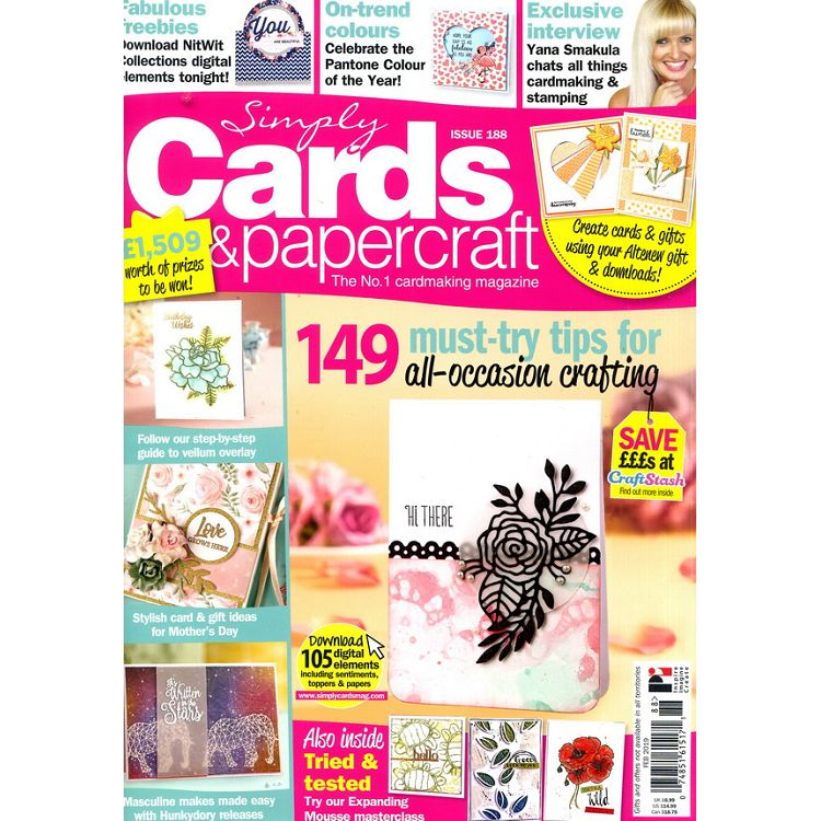 Simply Cards & papercraft 第188期