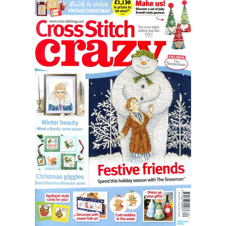 Cross stitch crazy 第262期 12月號_2019