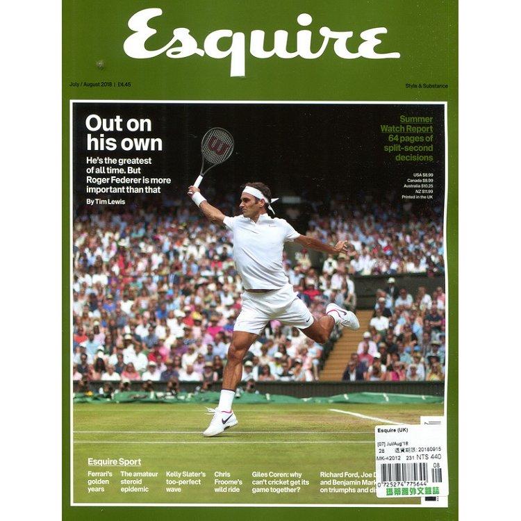 Esquire (UK) 7-8月號 2018