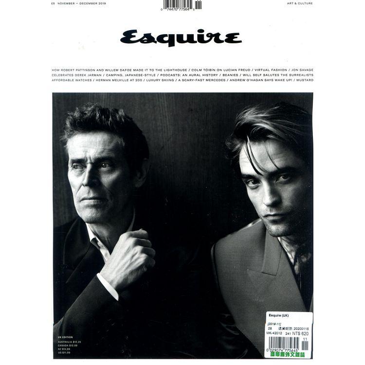Esquire (UK) 11月號_2019