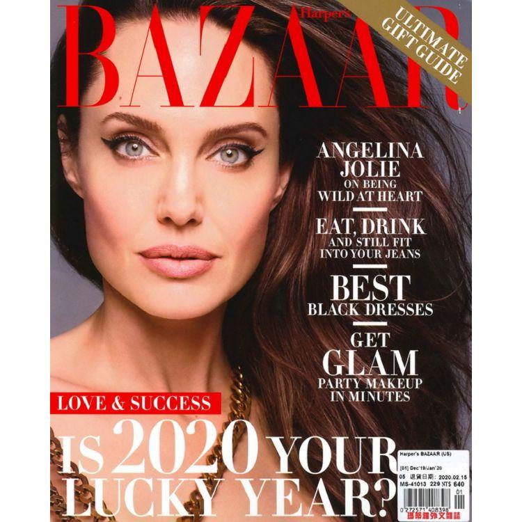 Harper`s BAZAAR (US) 12-1月號_2019-2020