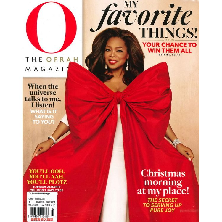O: The OPRAH Magz 12月號_2019