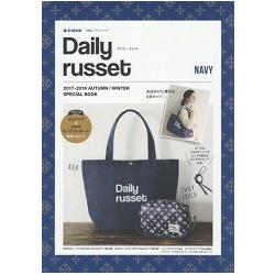 Daily russet 品牌MOOK 2017-2018年秋冬號-NAVY附海軍藍托特包.小物包組