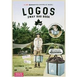 LOGOS 品牌兩用托特包特刊附超大型束口收納托特包