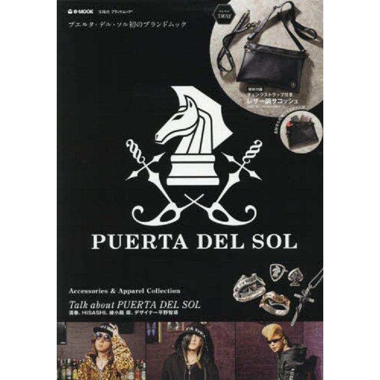 PUERTA DEL SOL 品牌肩背包特刊附黑色小型肩背包