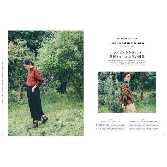 自然風亞麻 9月號2018附Traditional Weatherwear 美妝品.飾品收納袋