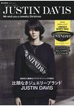 JUSTIN DAVIS 品牌MOOK附LOGO文字黑色霹靂包