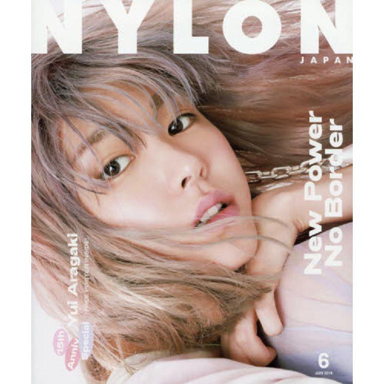 NYLON JAPAN 6月號2019