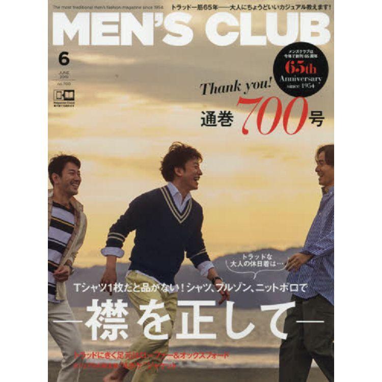 MEN`S CLUB 6月號2019