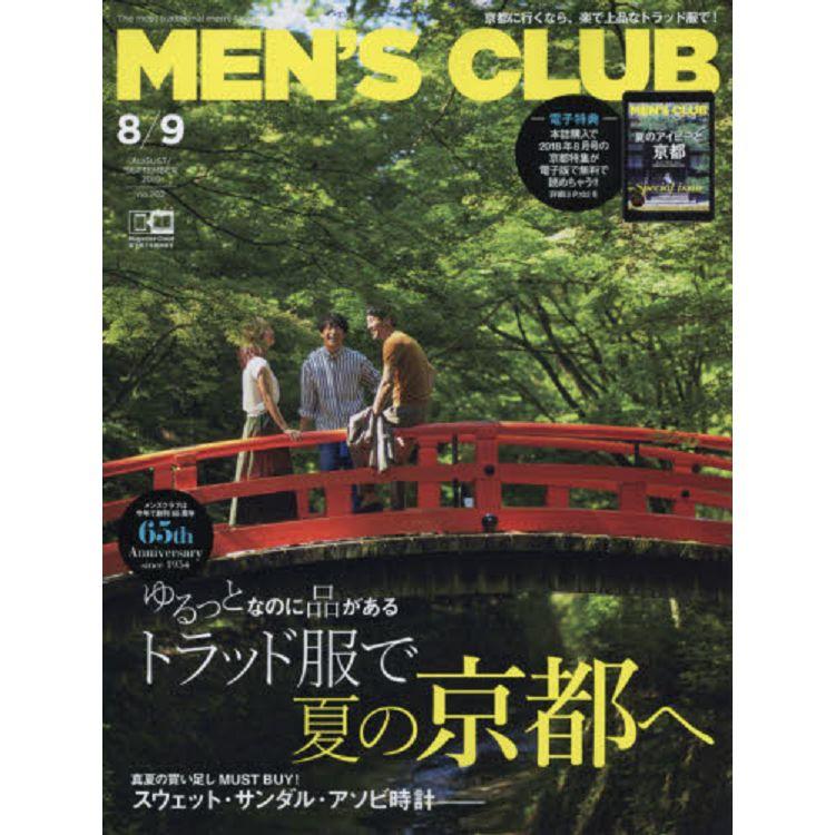 MEN`S CLUB 9月號2019