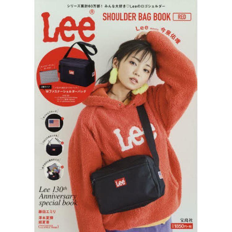 Lee品牌特刊附紅標側背包