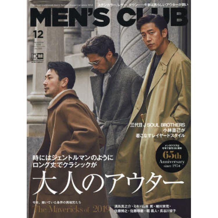 MEN``S CLUB 12月號2019