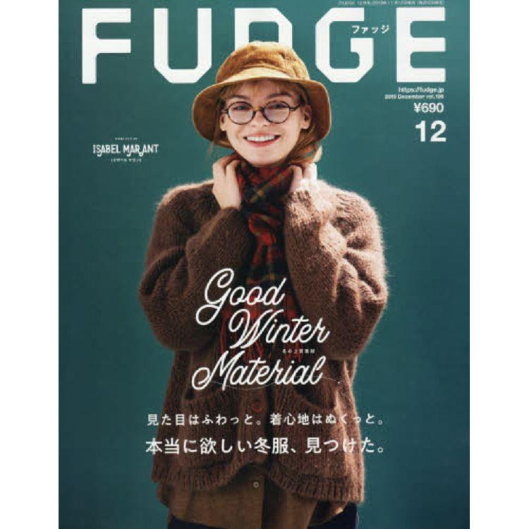 FUDGE 12月號2019