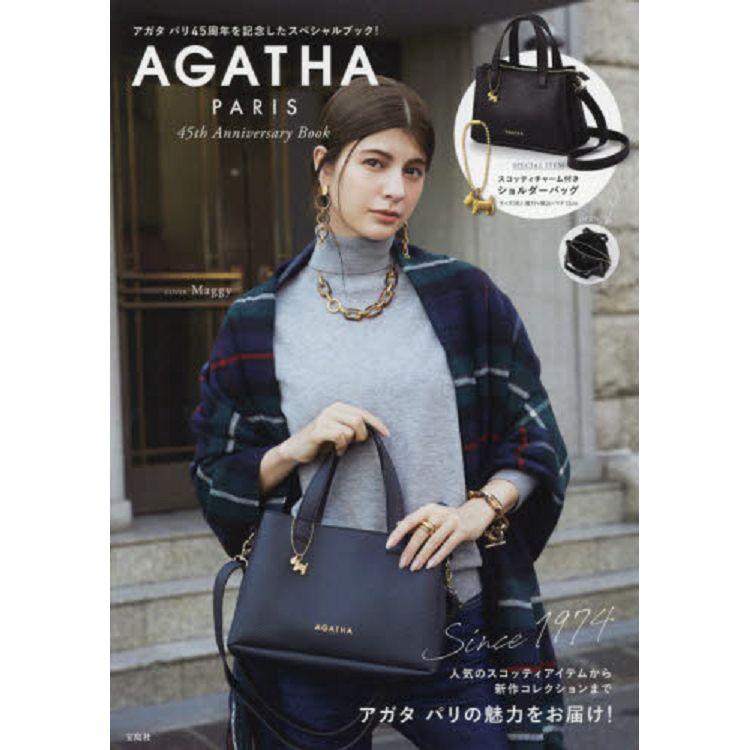 AGATHA PARIS 45周年特刊附側背包