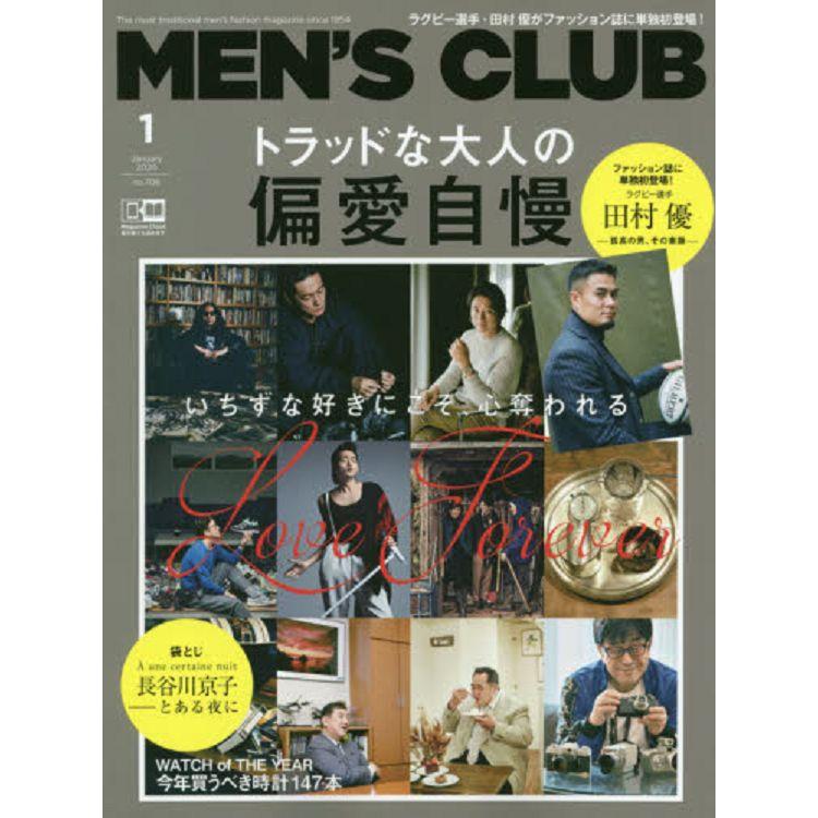 MEN`S CLUB 1月號2020