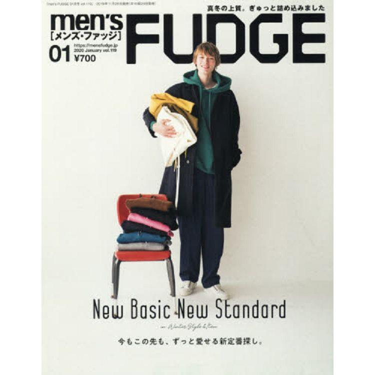 men`s FUDGE 1月號2020