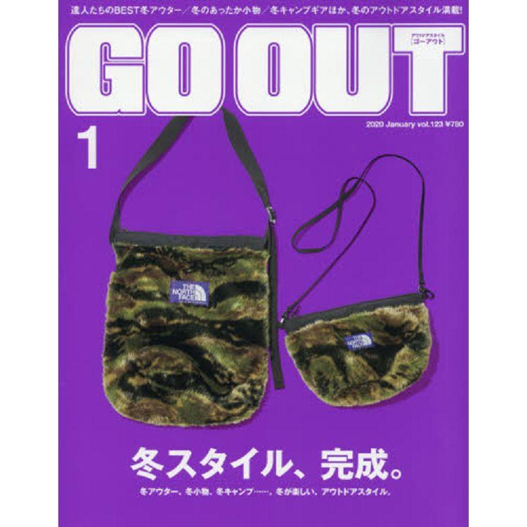 OUTDOOR STYLE GO OUT 1月號2020