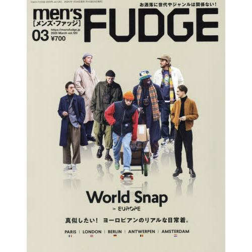men`s FUDGE 3月號2020