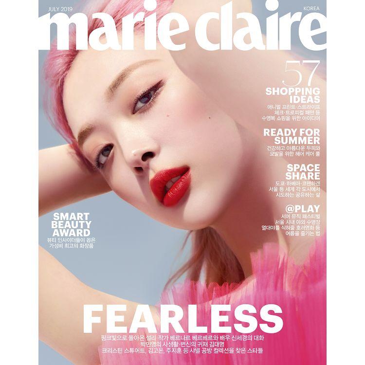 MARIE CLAIRE KOREA 201907