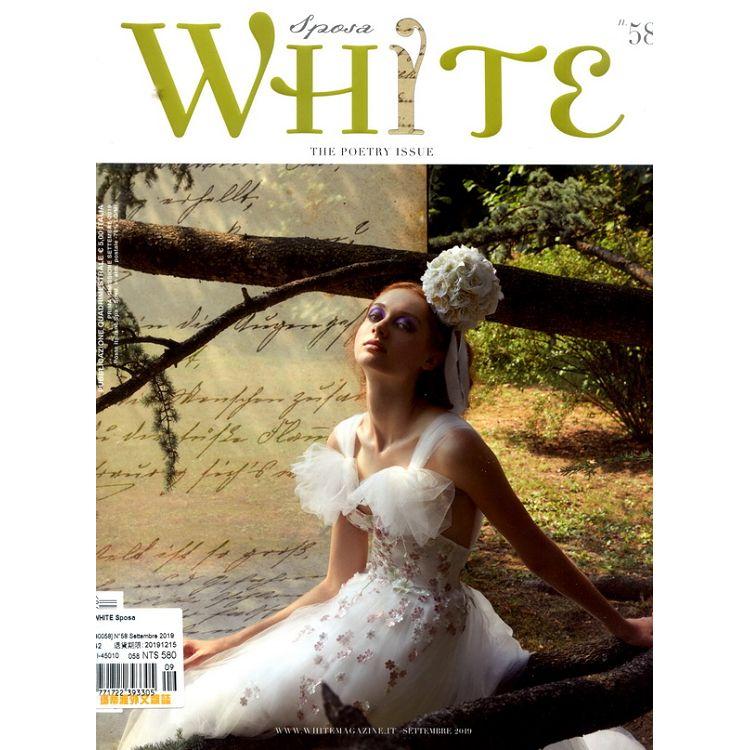 WHITE Sposa 第58期
