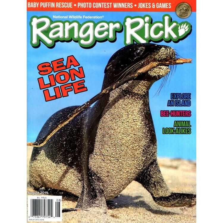 Ranger Rick 8月號_2019