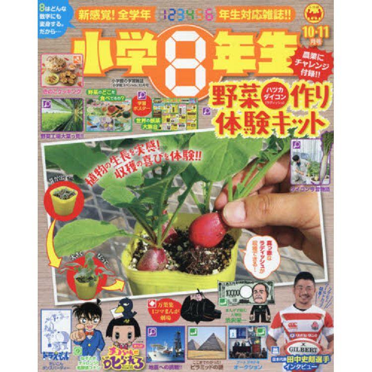 小學8年級生 2019年10月號特刊 附植栽蔬菜體驗組