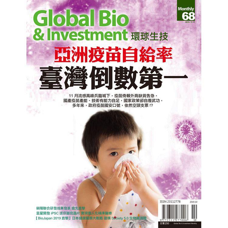 Global Bio & Investment環球生技2019第68期