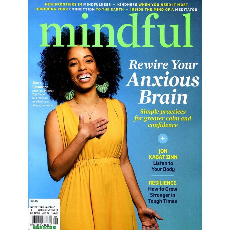mindful 4月號_2019
